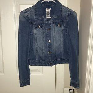 Bebe Girls' Denim Jacket